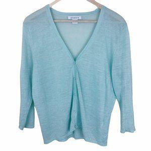 Liz Claiborne Lightweight Knit Sweater Cardigan XL